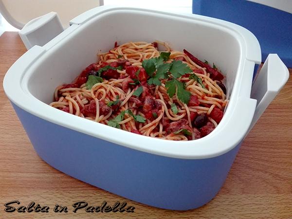 Spaghetti al ragù di totano