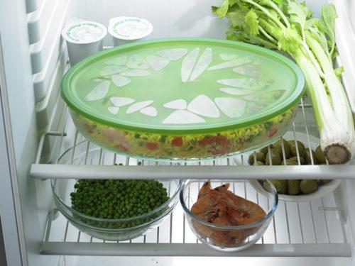 chef carrier ovale verde frigo