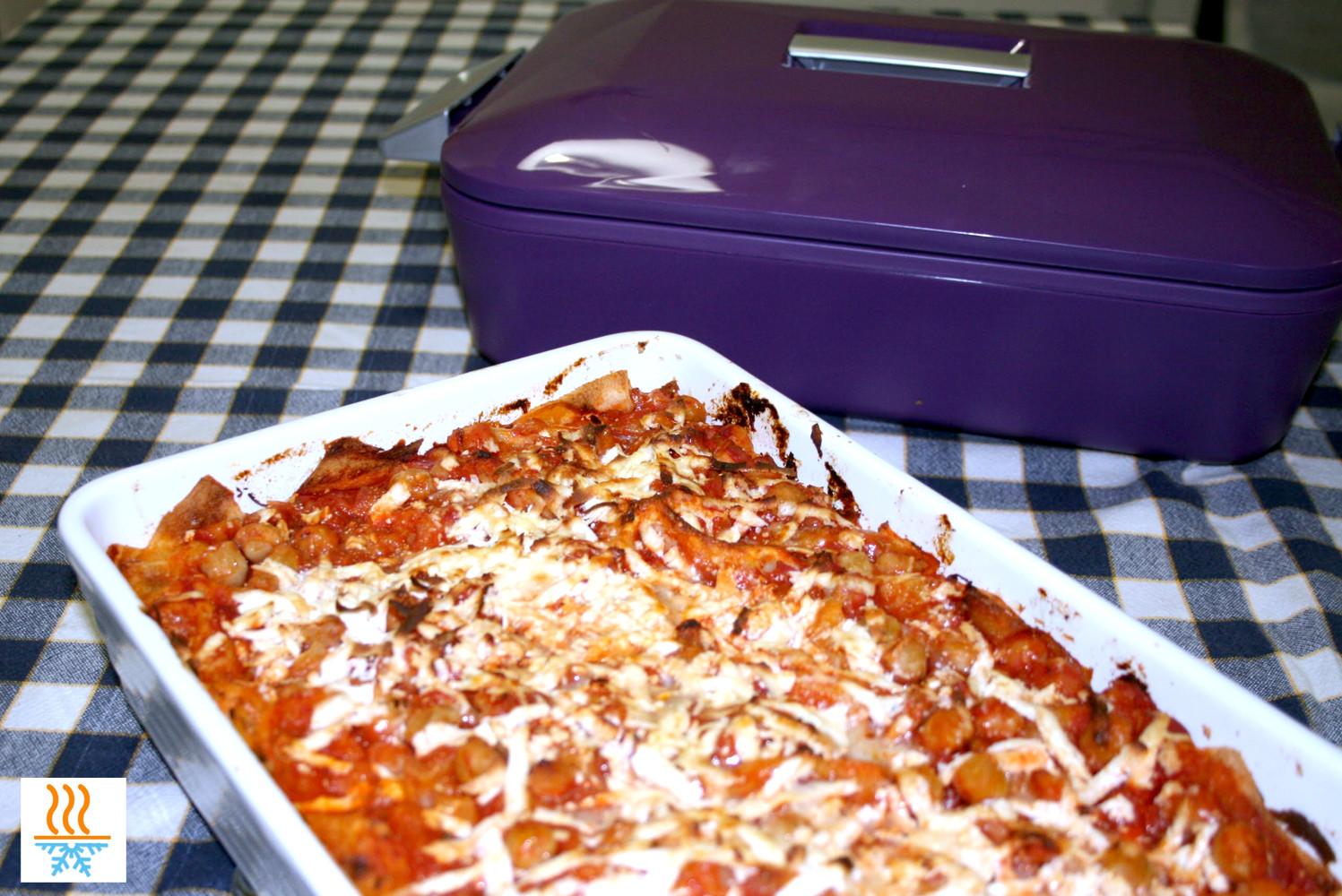 Lasagne di pane carasau - Contenitori termici